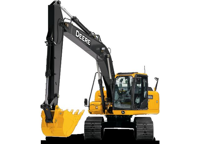 John Deere Excavators 180G LC
