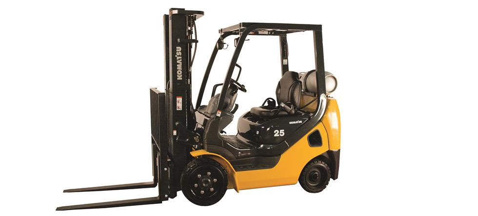 Komatsu Forklift IC Cushion BX50 Series