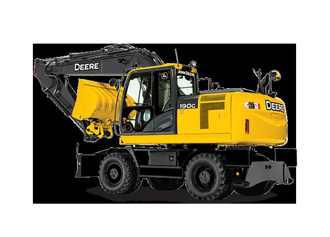 John Deere Wheeled Excavators 190G W