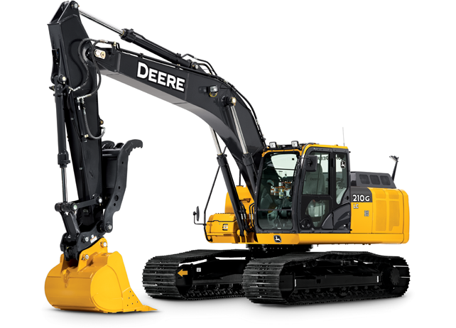 John Deere Wheeled Excavators 210G LC