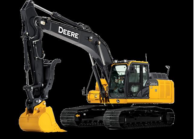 John Deere Excavators 210G