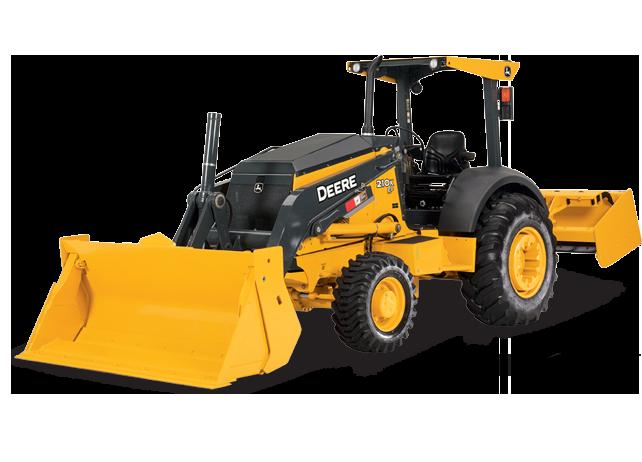 John Deere Tractor Loader 210K EP