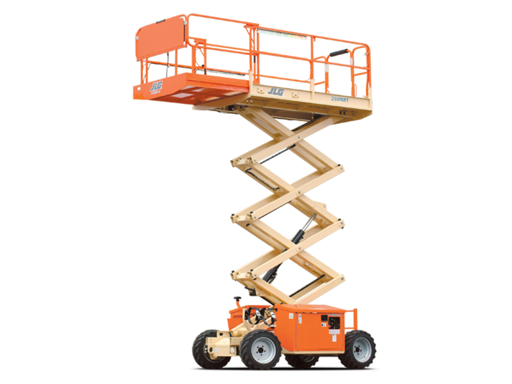 JLG Engine Powered Scissor Lifts 260MRT