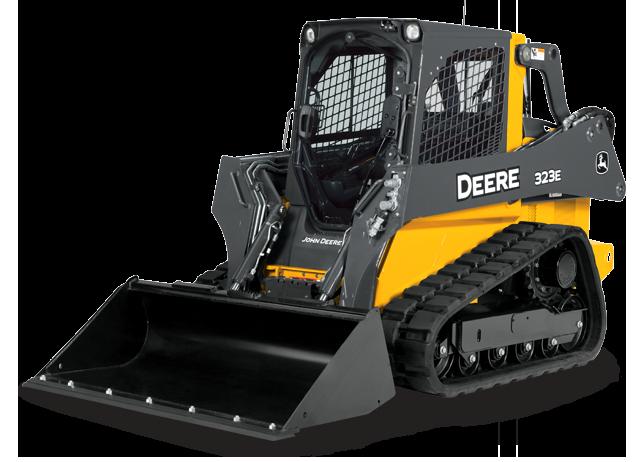 John Deere Compact Track Loader 323E