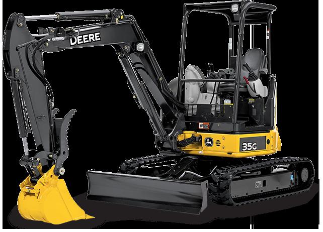 John Deere Excavators 35G