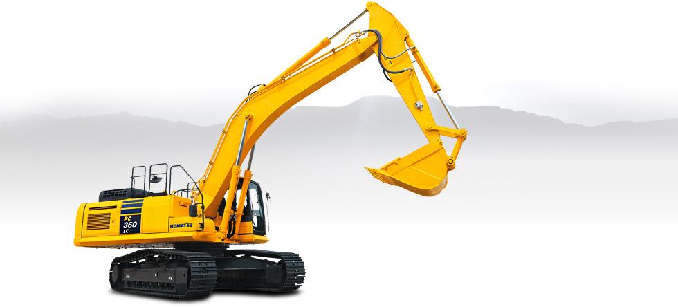 Komatsu Excavators PC360LC-10