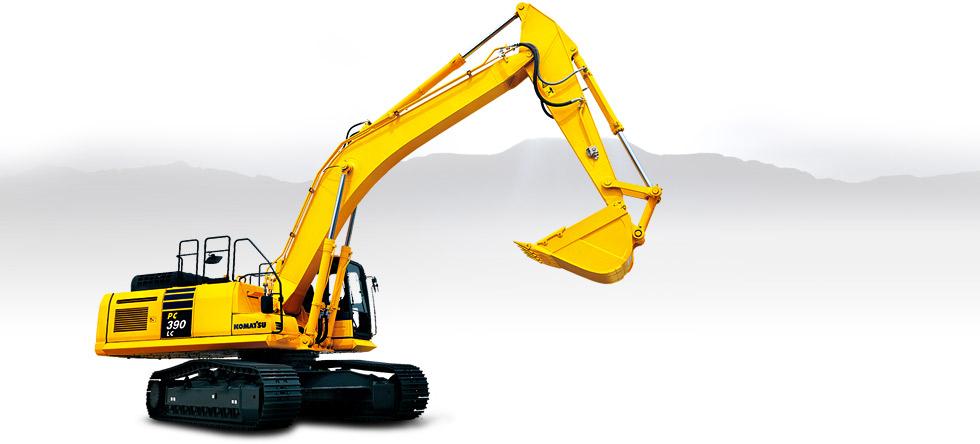 Komatsu Excavators PC390LC-10