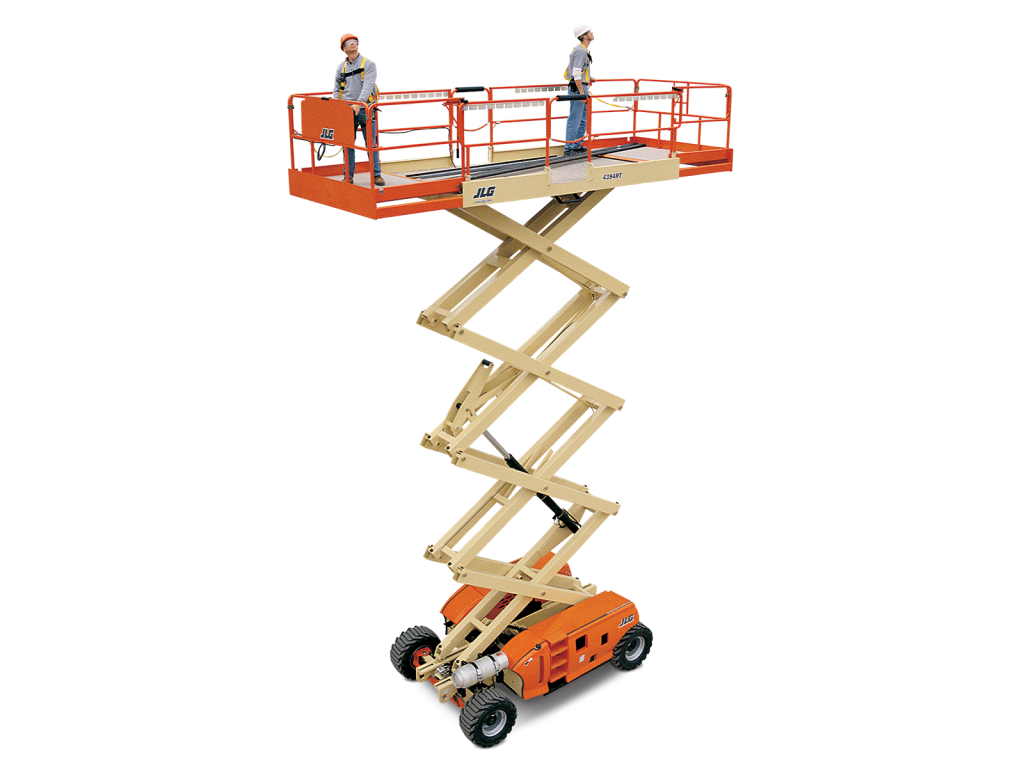JLG Engine Powered Scissor Lifts 4394RT