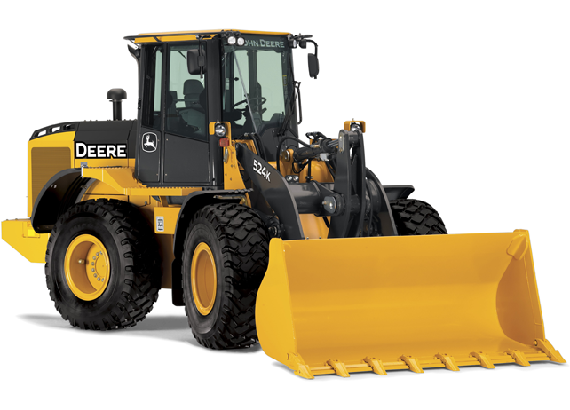 John Deere Wheel Loader 524K High-Lift Tier 3