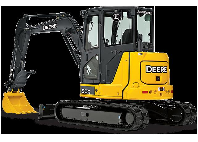 John Deere Excavators 50G