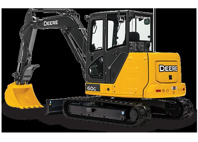 John Deere Excavators 60G