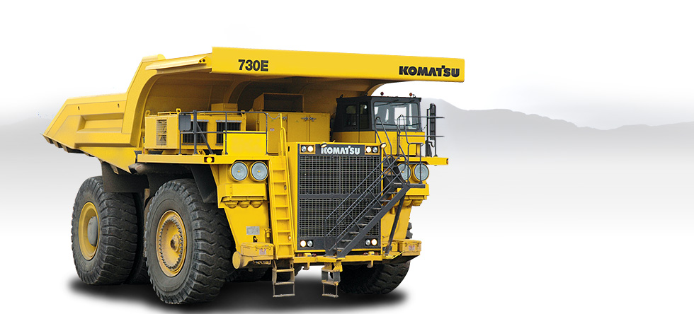 Komatsu Trucks 730E-8