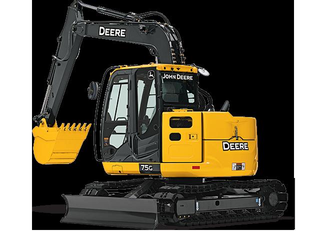 John Deere Excavators 75G