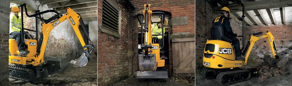 JCB Hydraulic Excavators 8008 CTS