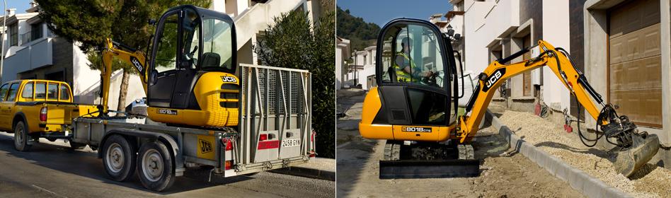 JCB Hydraulic Excavators 8018 CTS