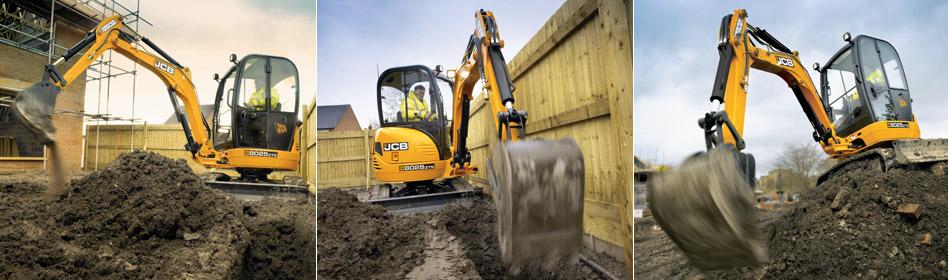JCB Hydraulic Excavators 8025 ZTS