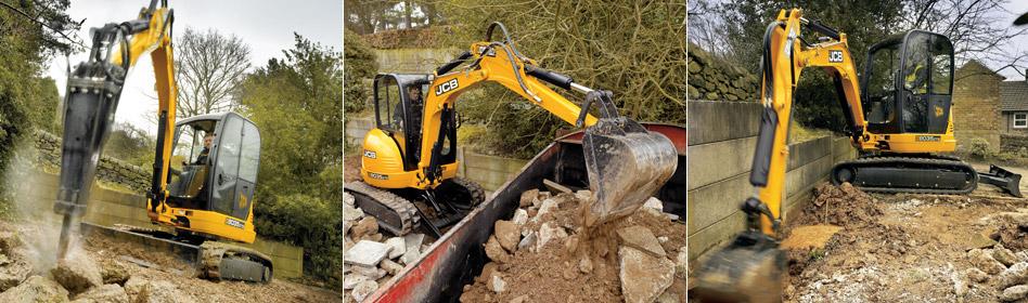 JCB Hydraulic Excavators 8035 ZTS