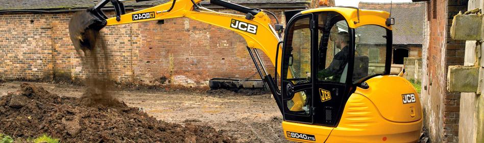 JCB Hydraulic Excavators 8040 ZTS