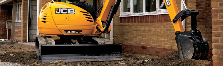 JCB Hydraulic Excavators 8045 ZTS