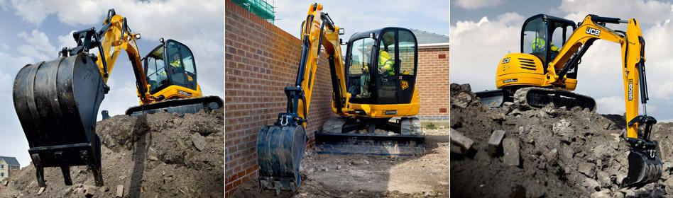 JCB Hydraulic Excavators 8055 RTS
