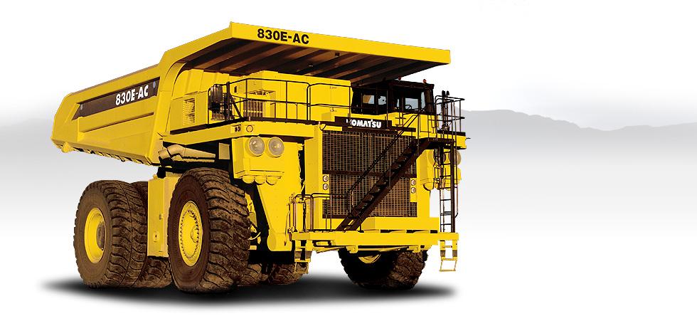 Komatsu Trucks 830E-1AC