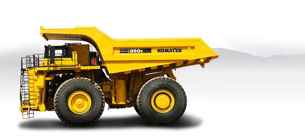 Komatsu Trucks 860E-1K