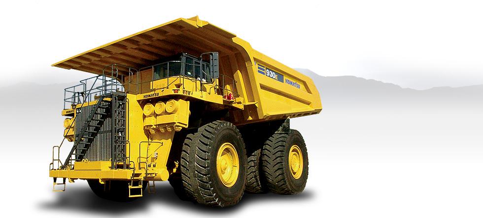 Komatsu Trucks 930E-4SE