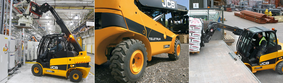 JCB Teletruks TLT 30D High Lift