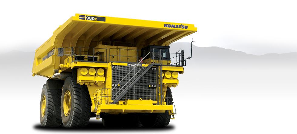 Komatsu Trucks 960E-2