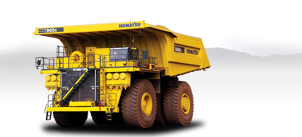 Komatsu Trucks 960E-2K