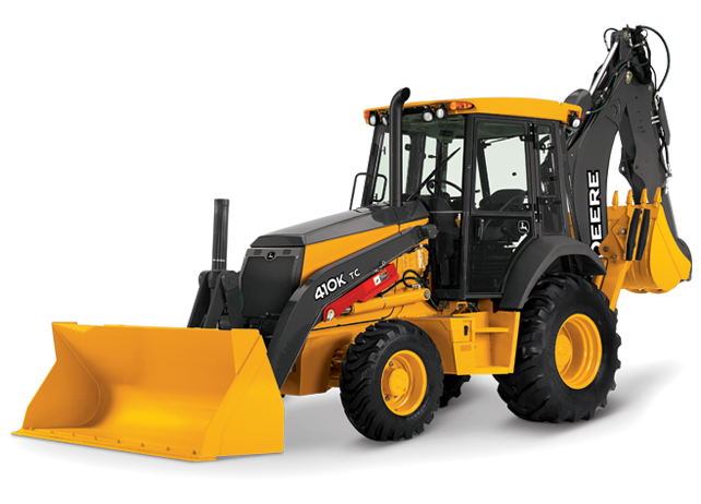 John Deere Backhoe Loader 410K Tier 2