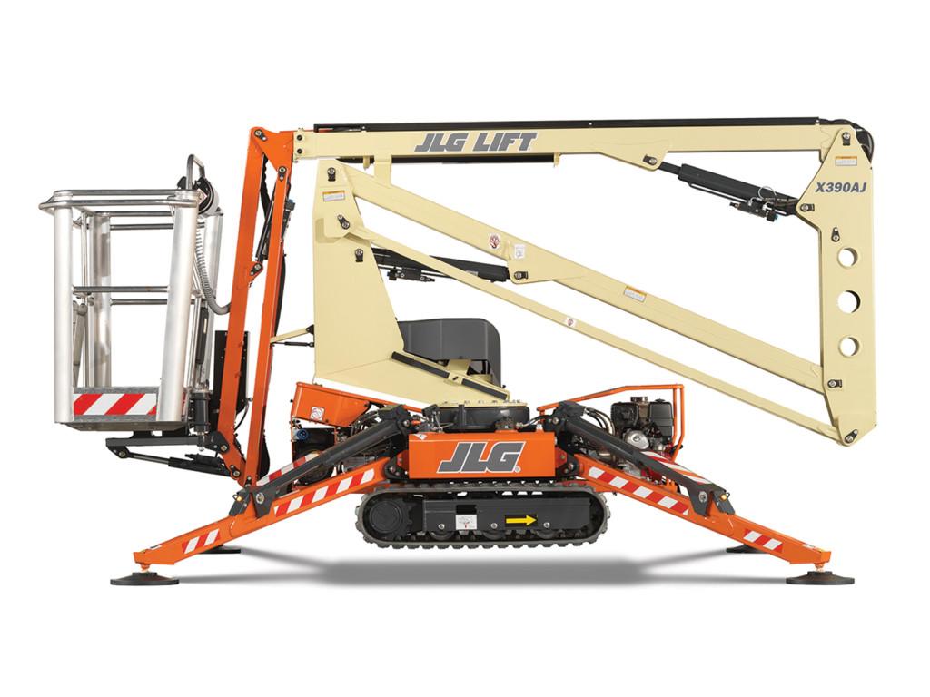 Compact Crawler Boom X390AJ