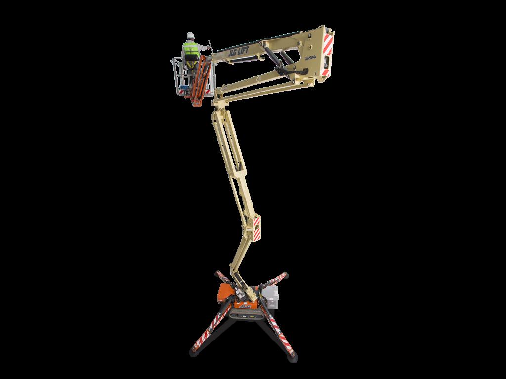 Compact Crawler Boom X550AJ