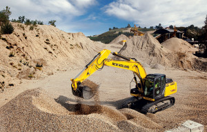 New Holland Crawler Excavators E215C