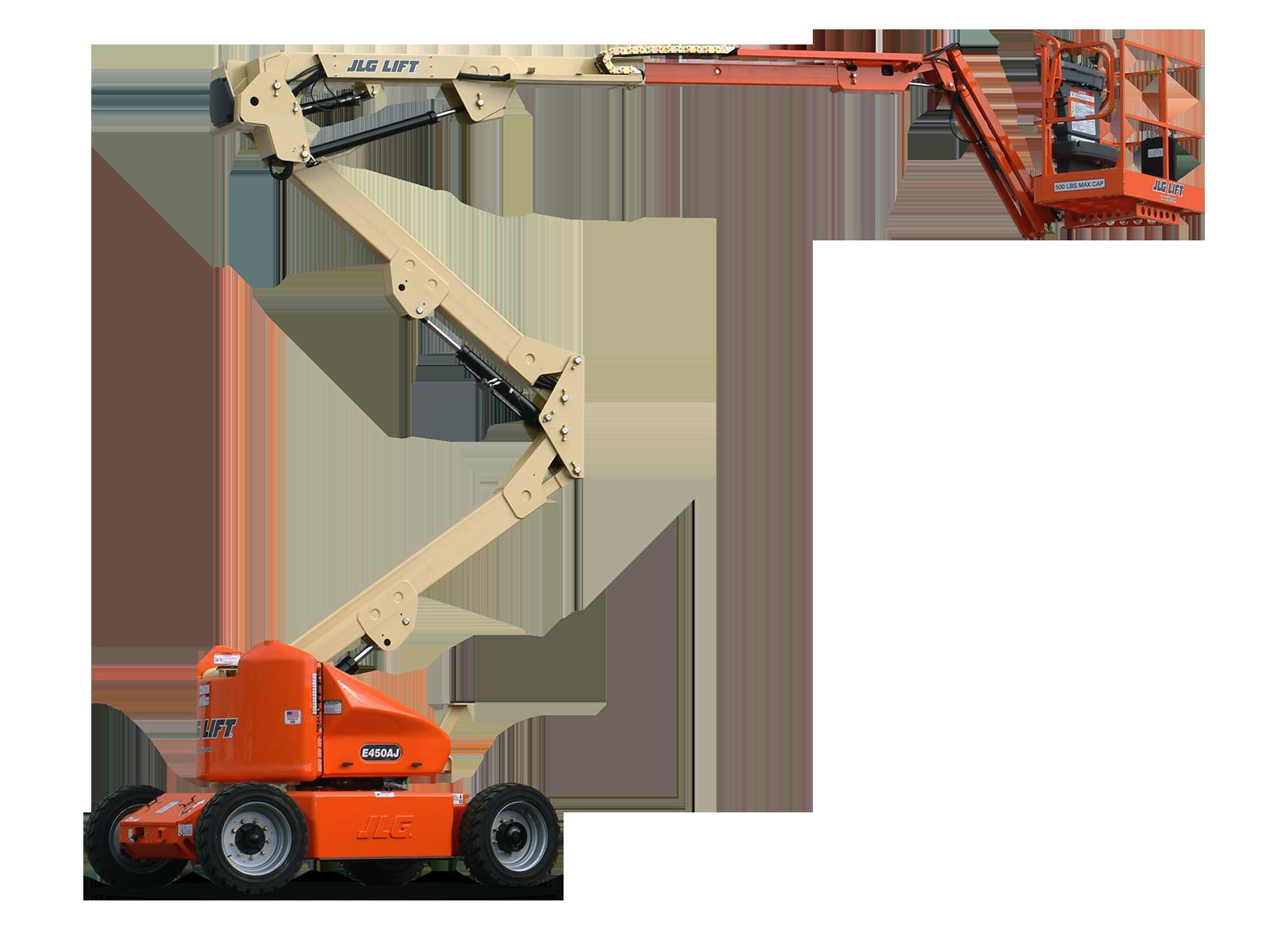 JLG Articulating Boom Lifts E450AJ
