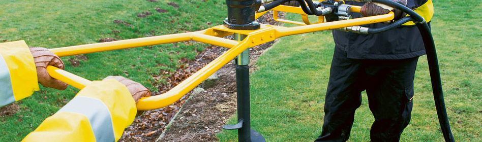 JCB Light Equipment Earth Drill