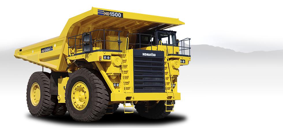 Komatsu Trucks HD1500-7