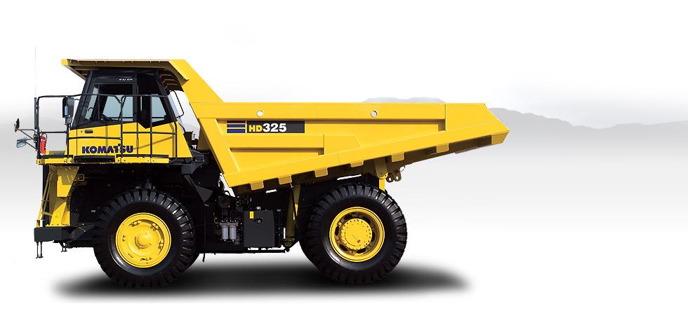 Komatsu Trucks HD325-7