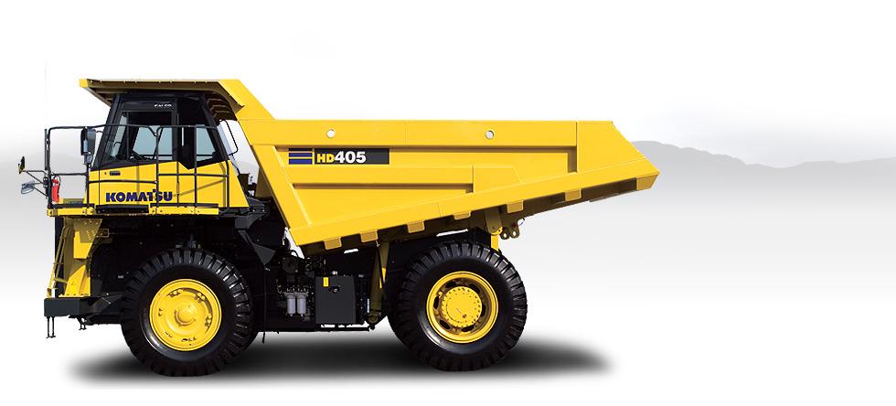 Komatsu Trucks HD405-7