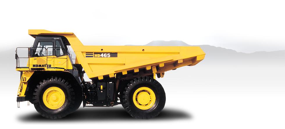 Komatsu Trucks HD465-7