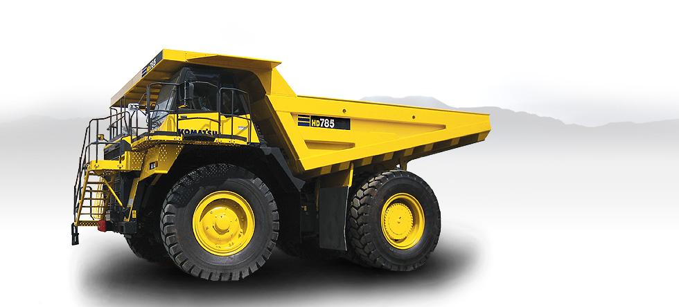 Komatsu Trucks HD785-7