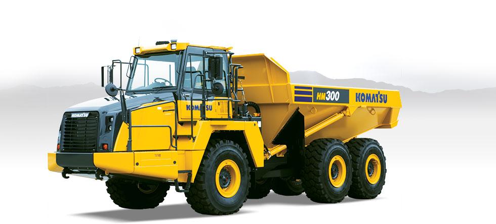 Komatsu Trucks HM300-5