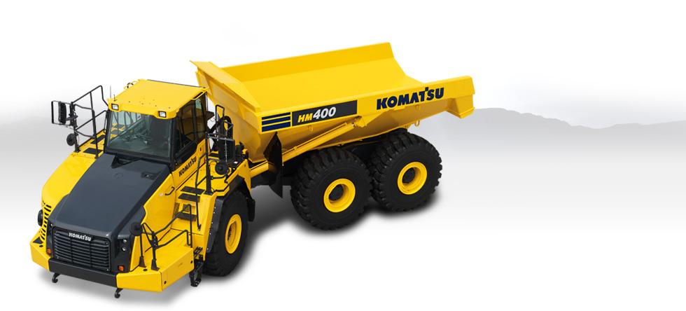 Komatsu Trucks HM400-3