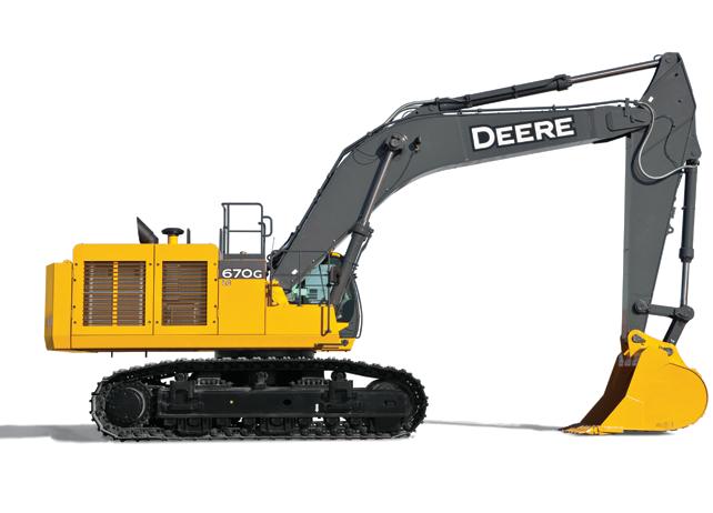 John Deere Excavators 670G LC