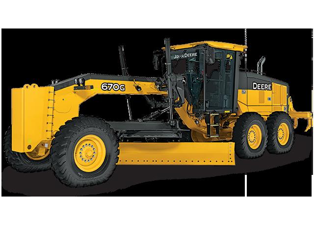 John Deere Motor Graders 670G/GP