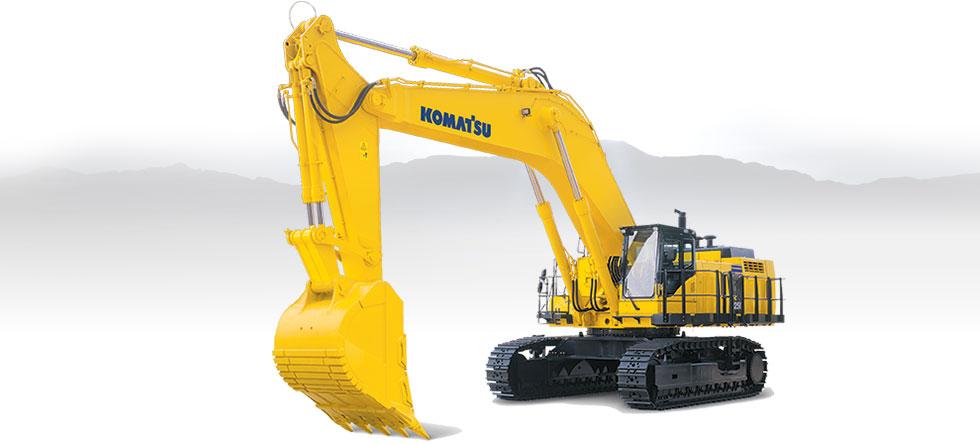 Komatsu Excavators PC1250-8