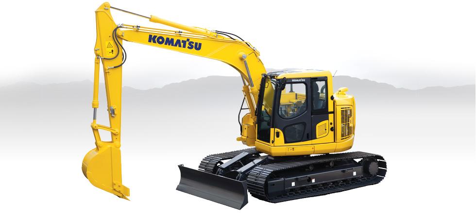Komatsu Excavators PC138USLC-10
