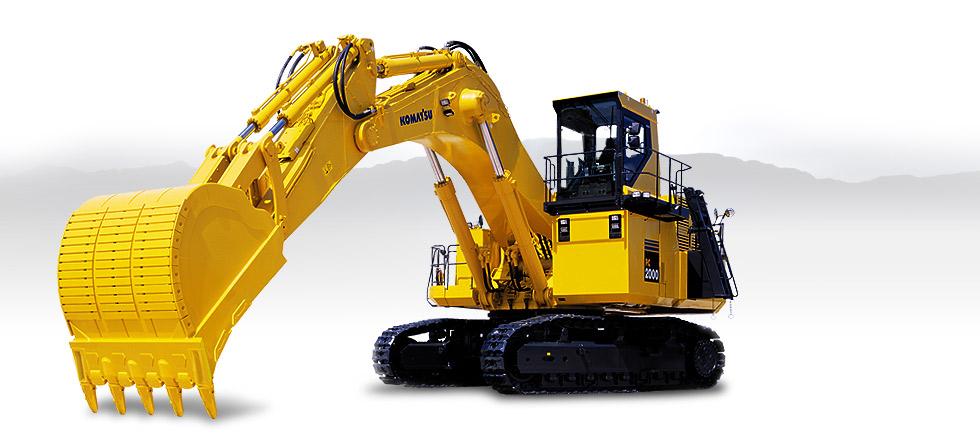 Komatsu Excavators PC2000-8
