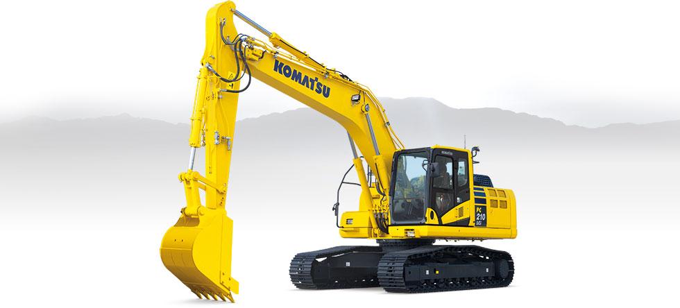 Komatsu Excavators PC210LCi-10