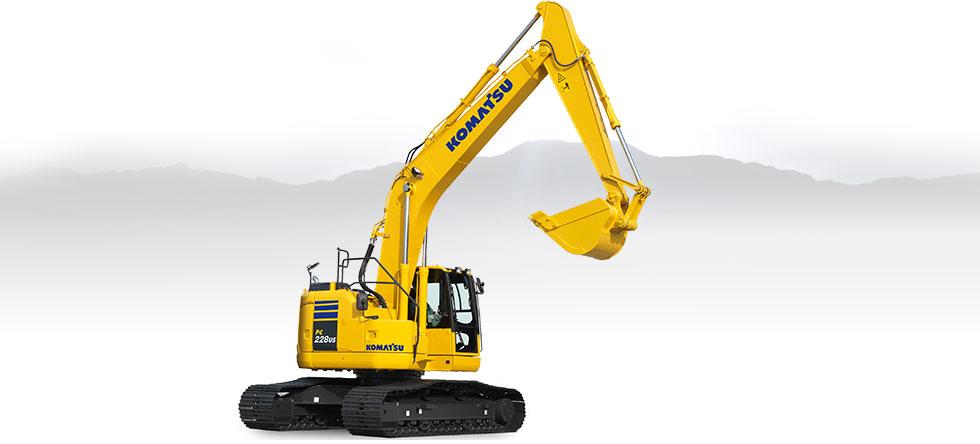 Komatsu Excavators PC228USLC-10